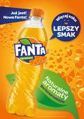 Nowa Fanta: więcej soku, lepszy smak