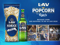 LAV: Because corn has nothing to do in our beer.