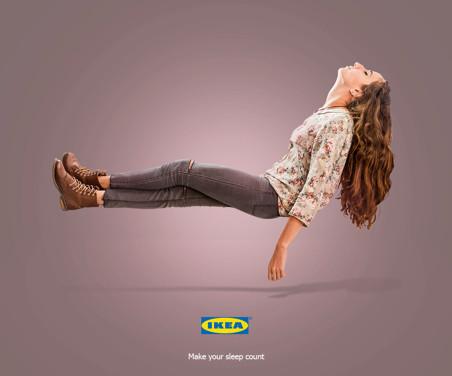 IKEA: Make your sleep count