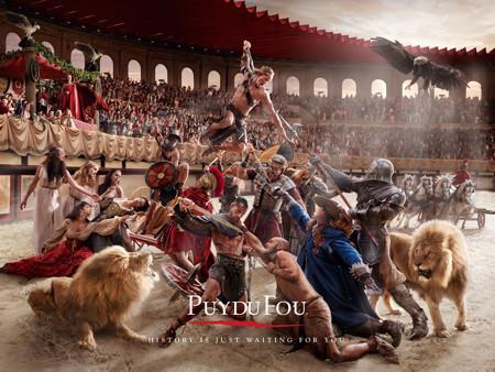 Puy du Fou Historical Theme Park: The Paintings