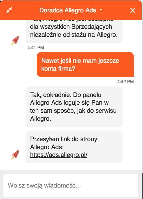 allegro ads
