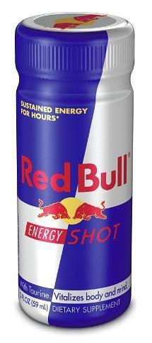 Launchowi Red Bull Energy Shot towarzyszą działania reklamowe prowadzone...