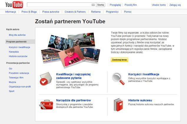 how to join youtube partner program