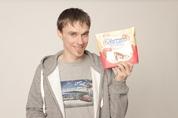 Piotr Żyła reklamuje markę Beskidzkie