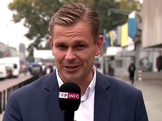 Łukasz Sitek po awanturze w pociągu wraca do pracy w TVP