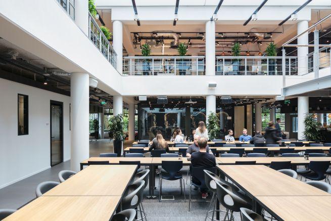 Centrum Netflixa w Amsterdamie, fot. Stijnstijl Fotografie
