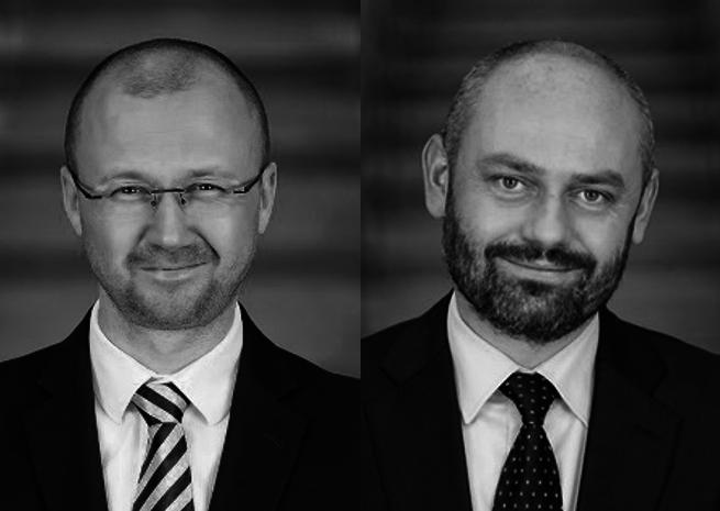 Od lewej: Adam Kowalik i Marcin Gałczyński