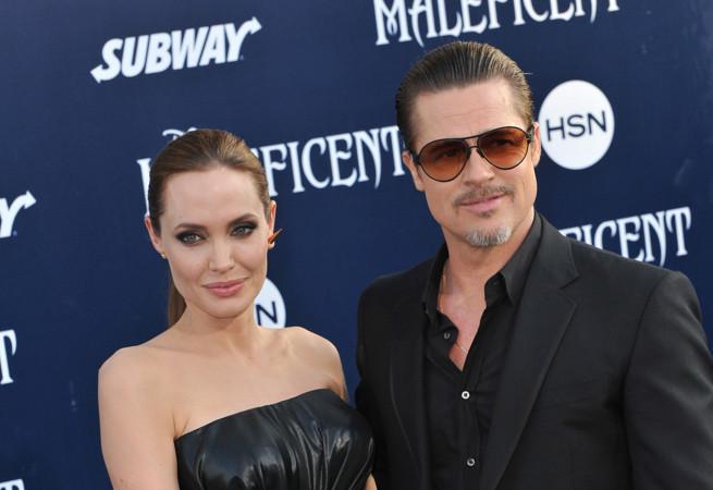 Angelina Jolie i Brad Pitt, fot. Shutterstock.com