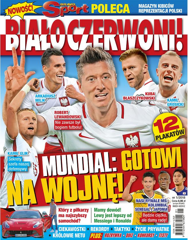 """""""Bravo Sport Poleca: Białoczerwoni!"""" - wydanie specjalne magazynu """"Bravo Sport"""""""