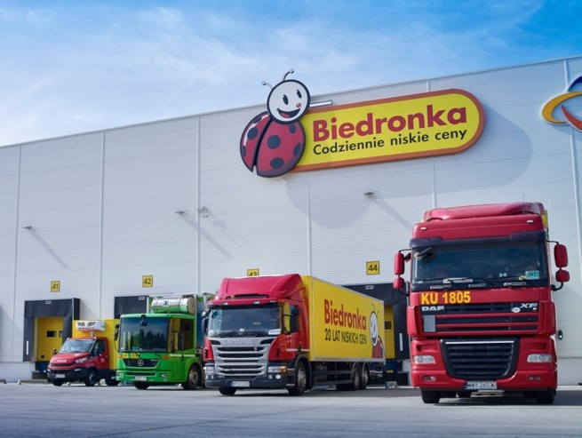Biedronka rozbudowuje sieć dystrybucyjną. Nowa inwestycja w Gorzowie Wielkopolskim jest najnowocześniejszym centrum w Polsce