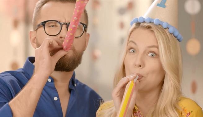 Karol Paciorek i Magdalena Tacik w oprawie HGTV, fot. TVN