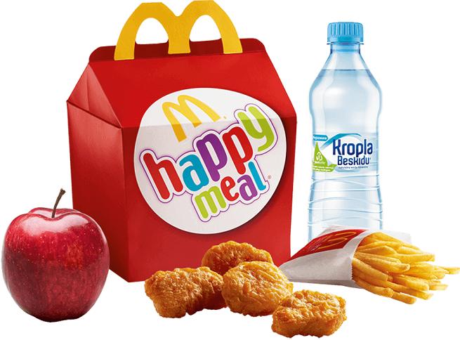 McDonald's zapowiada, że zmieni produkty w Happy Meal na zdrowsze i zmodyfikuje ich reklamy