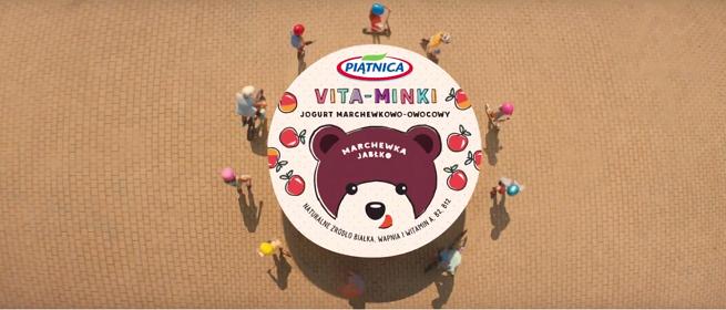 Dziecięcy hit zespołu Fasolki w kampanii jogurtów Vita-Minki (wideo)