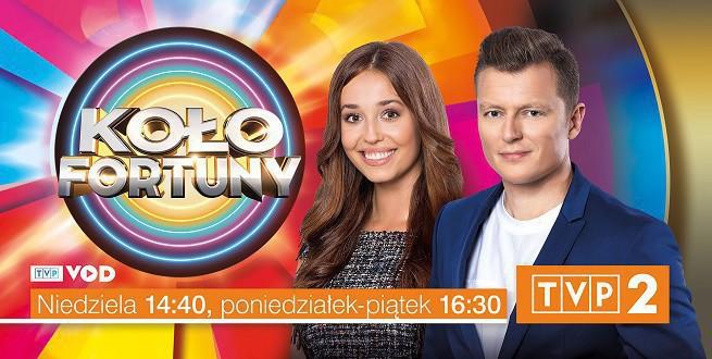 """Udany powrót """"Koła fortuny"""". TVP2 liderem rynku"""