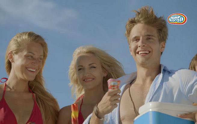 Przepis Macieja Musiała na wakacje z dziewczynami w kampanii lodów Koral (wideo)