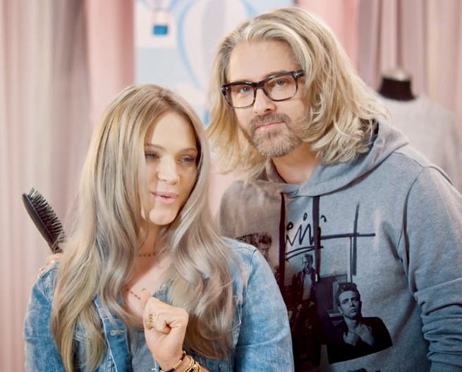 Zosia Ślotała z fryzurą od Leszka Czajki w kampanii L'Oréal Professionnel (wideo)