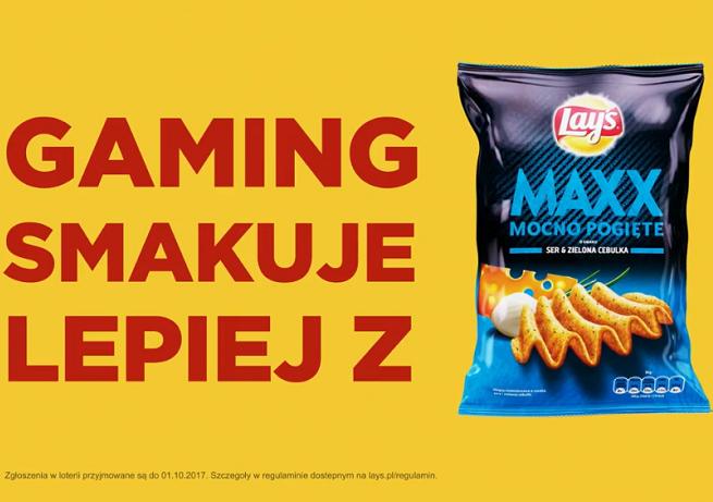 """""""Gaming smakuje lepiej"""" w promocji chipsów Lay's Maxx (wideo)"""