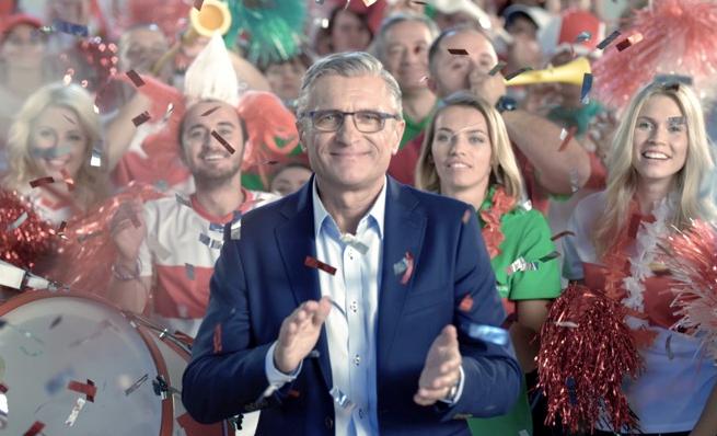 Adam Nawałka reklamuje urodzinową loterię Leroy Merlin (wideo)