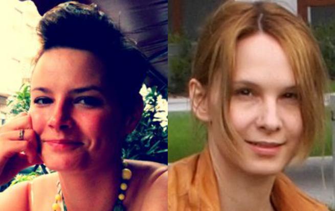 od lewej: Małgorzata Drozdowska i Agnieszka Klimczak