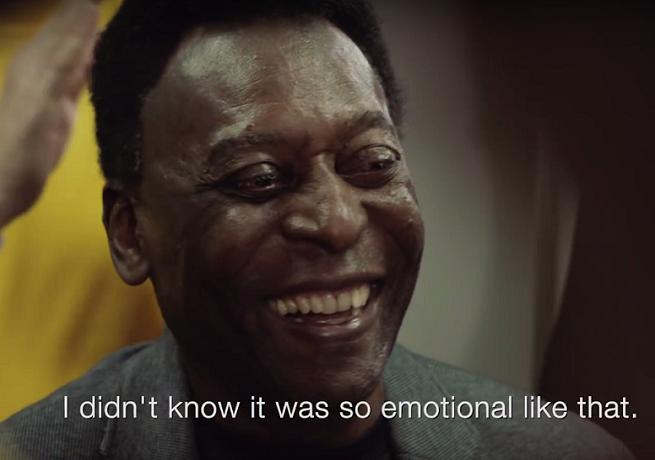 Pelé w kampanii Mastercard podkreślającej bezcenne chwile w Lidze Mistrzów (wideo)