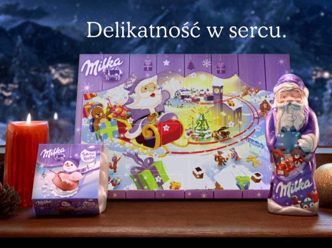 """""""Odkryj magię oczekiwania na święta"""" w kampanii Milki (wideo)"""