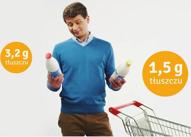 """""""Mniej cukru, soli i tłuszczu? Kupuję to!"""" w kampanii Instytutu Żywności i Żywienia (wideo)"""