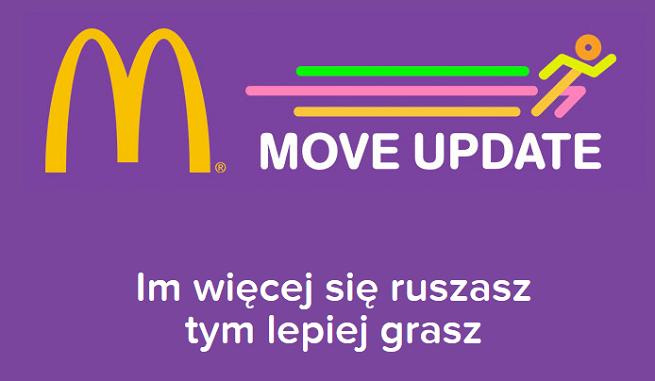 """""""Move Update"""" od DDB & Tribal w grach McDonald's dla rozruszania młodych (wideo case study)"""
