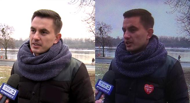 """Jacek Kurski tłumaczy wymazanie logo WOŚP w """"Wiadomościach"""": błąd realizatora, to mogła być kryptoreklama"""