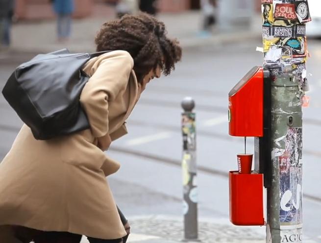 Nescafé z niestandardową kampanią na przejściach dla pieszych (wideo)