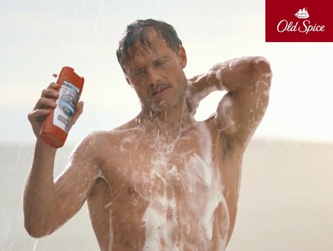 Prysznic na pustyni z głosem Arkadiusza Jakubika reklamuje Old Spice Dirt Destroyer (wideo)