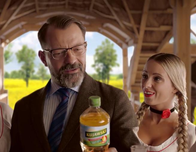 Śpiewająca kontrola jakości w reklamie Oleju Kujawskiego (wideo)