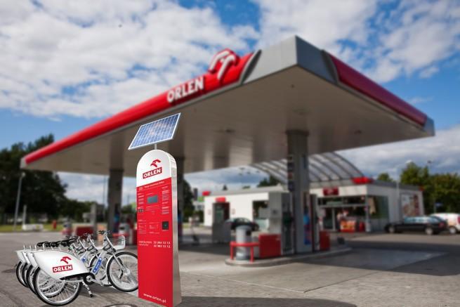 Nextbike uruchomi 11 stacji Veturilo dla PKN Orlen w Warszawie
