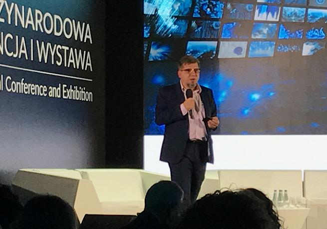 Witold Kołodziejski na Konferencji PIKE, fot. Łukasz Brzezicki