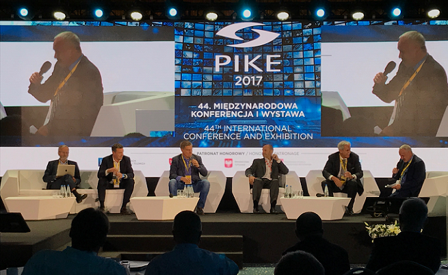 Nadawcy komercyjni podczas 44. Konferencji PIKE w Poznaniu, fot. Łukasz Brzezicki