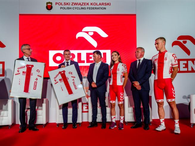 Orlen przez trzy lata sponsorem Polskiego Związku Kolarskiego