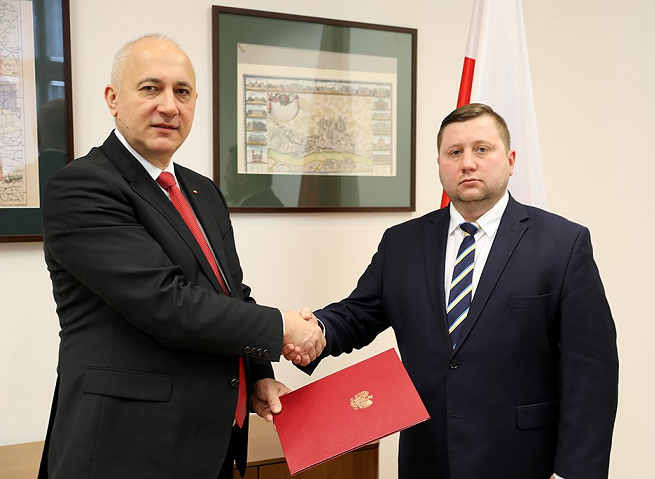 Joachim Brudziński i Paweł Majewski, fot. MSWiA