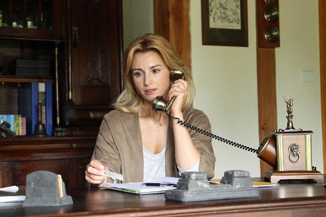 Joanna Brodzik; fot. TVP