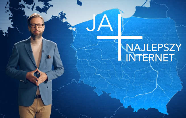 Szymon Majewski prezenterem zasięgu internetu LTE w reklamie Plusa (wideo)