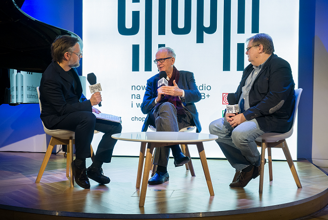 Inauguracja Polskiego Radia Chopin, fot. Wojciech Kusiński/Polskie Radio