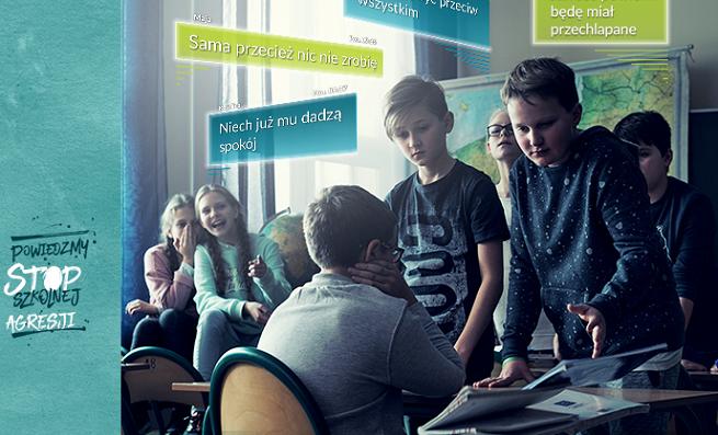 """""""Powiedzmy STOP szkolnej agresji"""" w kampanii Rzecznika Praw Dziecka (wideo)"""