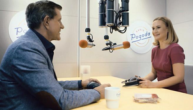 Radio Pogoda startuje z jesienną ramówką. Poranny program Zygmunta Chajzera i Joanny Kruk