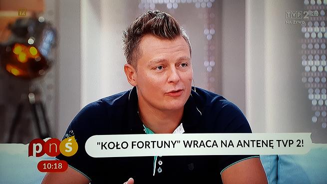 """""""Koło fortuny"""" od 11 września w TVP2. Emisja w dni powszednie o 16.30"""