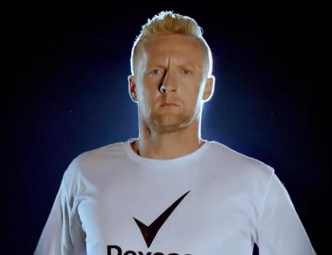 Kamil Glik reklamuje antyperspiranty Rexona Men (wideo)