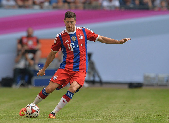 Robert Lewandowski, for. eurosport
