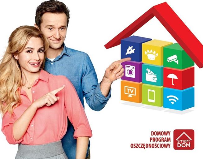 """Joanna Brodzik i Paweł Wilczak reklamują SmartDom jako """"domowy program oszczędnościowy"""" (wideo)"""