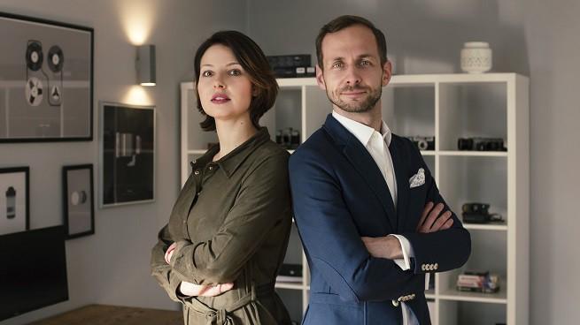 Zuzanna Michalska i Piotr Sójka w Foszer Sawicki