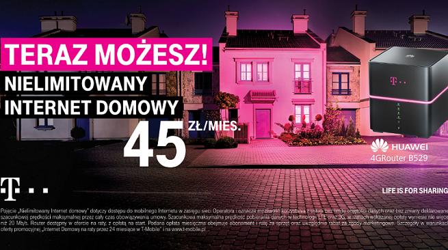 """Prosto i bez """"fachowców"""" od montażu - T-Mobile reklamuje nielimitowany internet domowy (wideo)"""