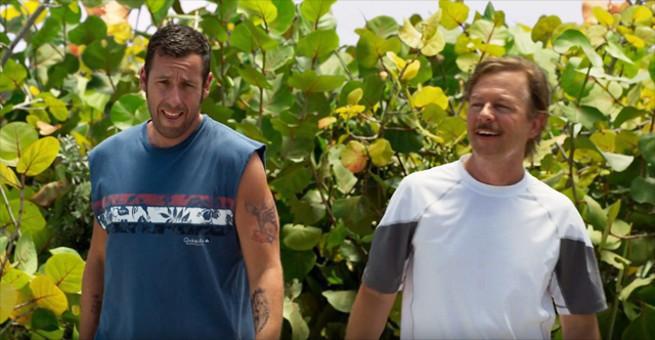 "Adam Sandler i David Spade w komedii akcji ""The Do-Over"" (wideo) Adam Sandler"