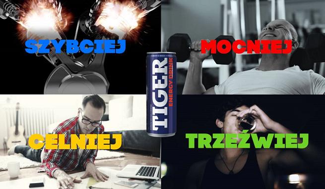 """""""Mocniej, szybciej, celniej, trzeźwiej"""" - raper Fokus w kampanii Tiger Energy Drink (wideo)"""