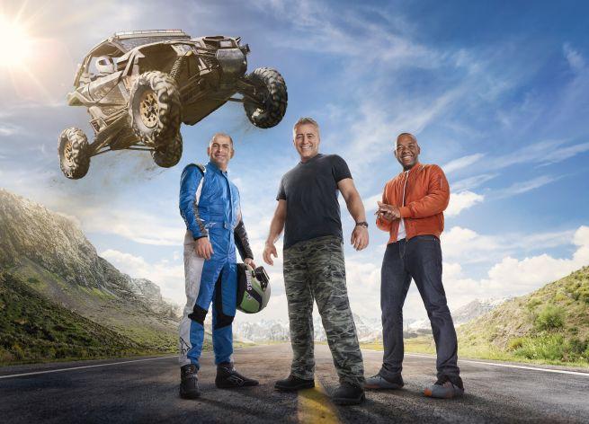 """25. sezon """"Top Gear"""" w BBC Brit od 25 lutego. Prowadzącymi Matt LeBlanc, Chris Harris i Rory Reid"""